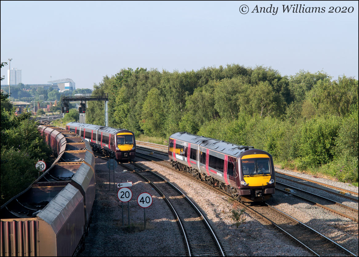 170523 at Saltley Viaduct