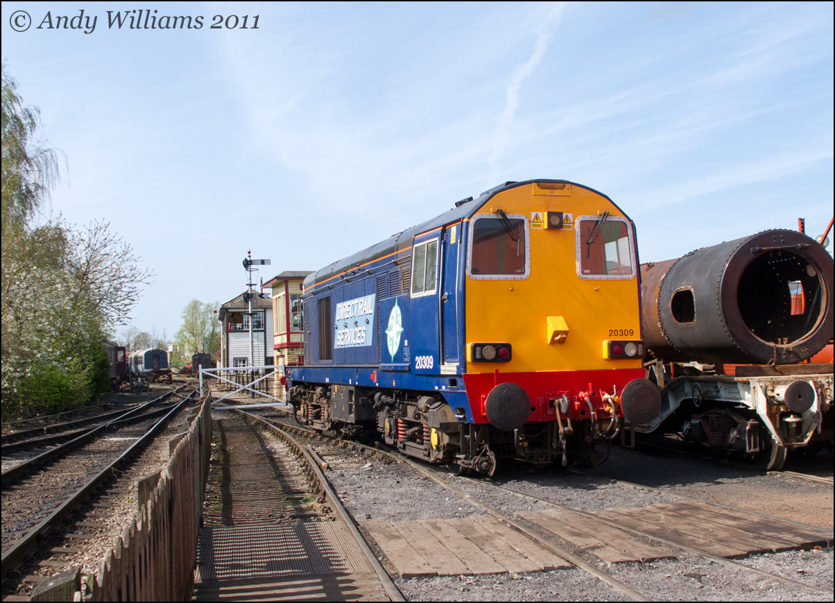 20309 at Crewe Heritage Centre
