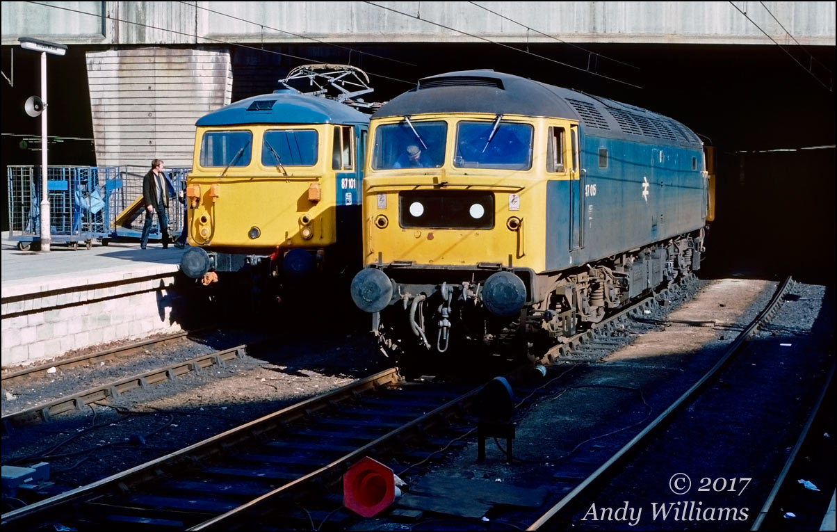 47015 and 87101 at New St