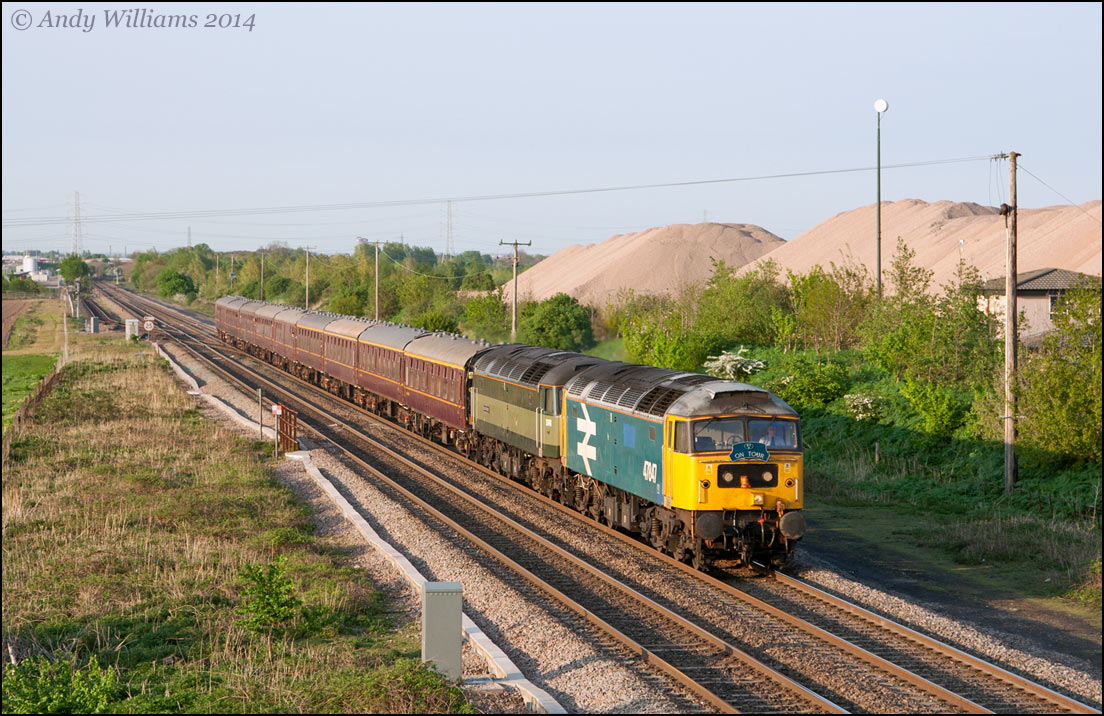 47847 and 47815 at Wichnor Jct