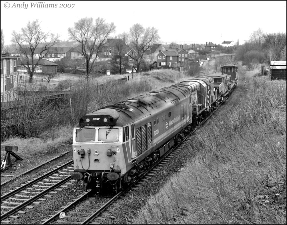 50025 passing Brierley Hill