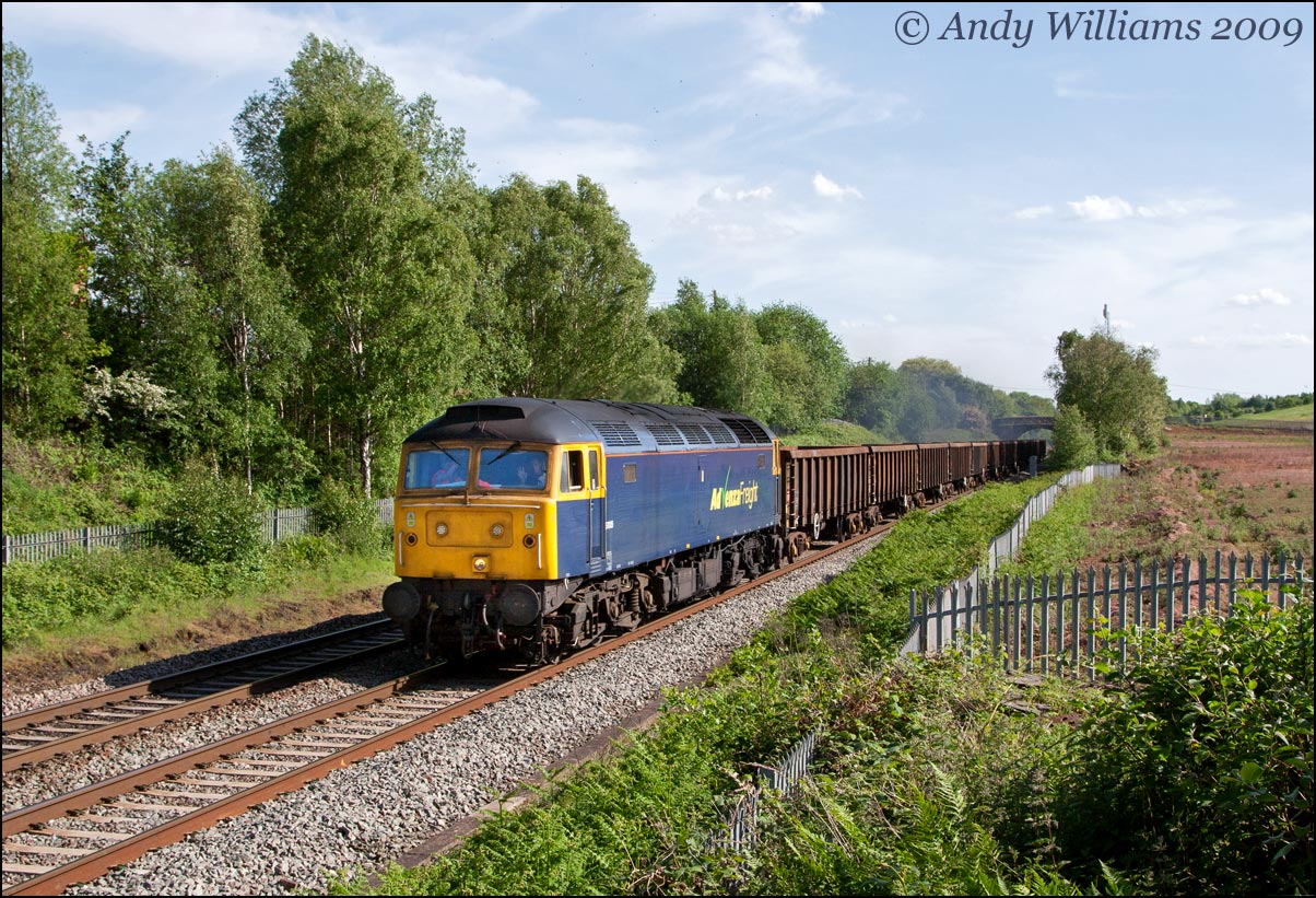 57005 at Dosthill, near Tamworth