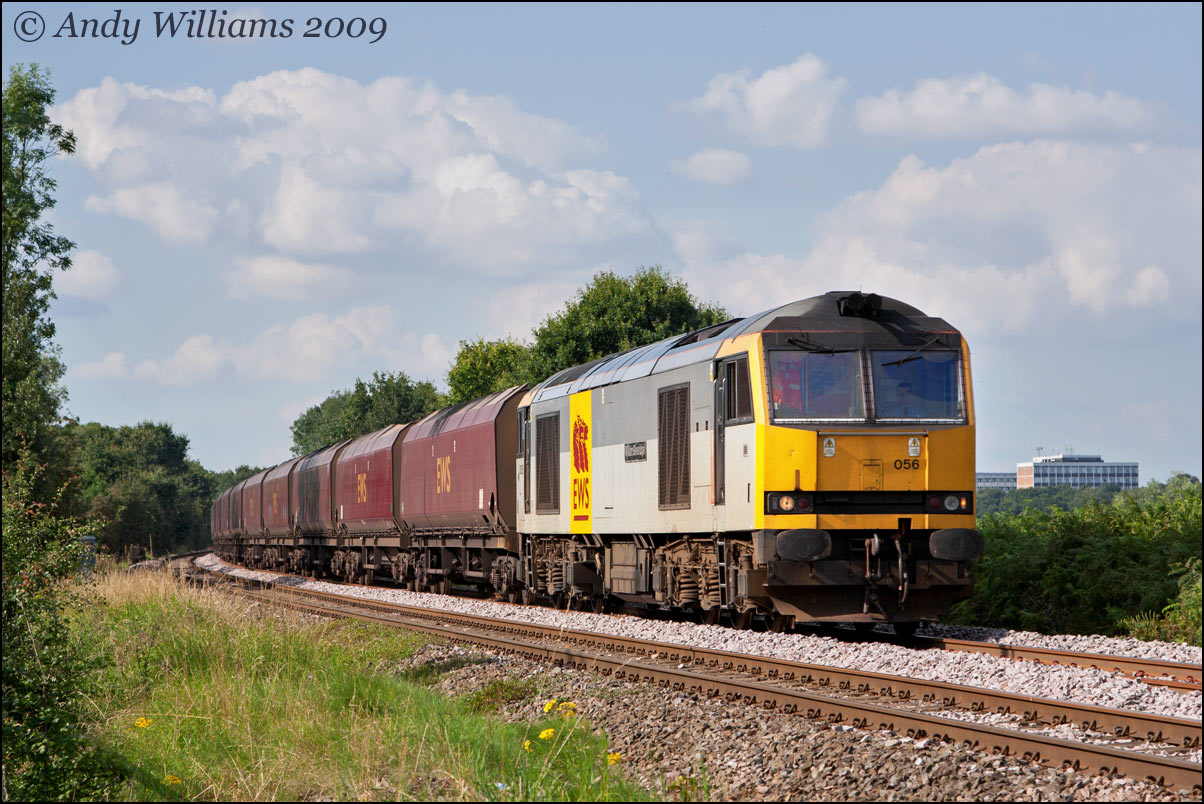 60056 at Wylde Green (Sutton Park line)