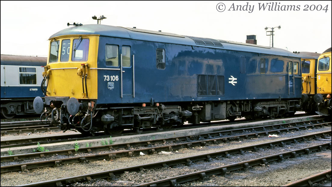 73106 at Ashford