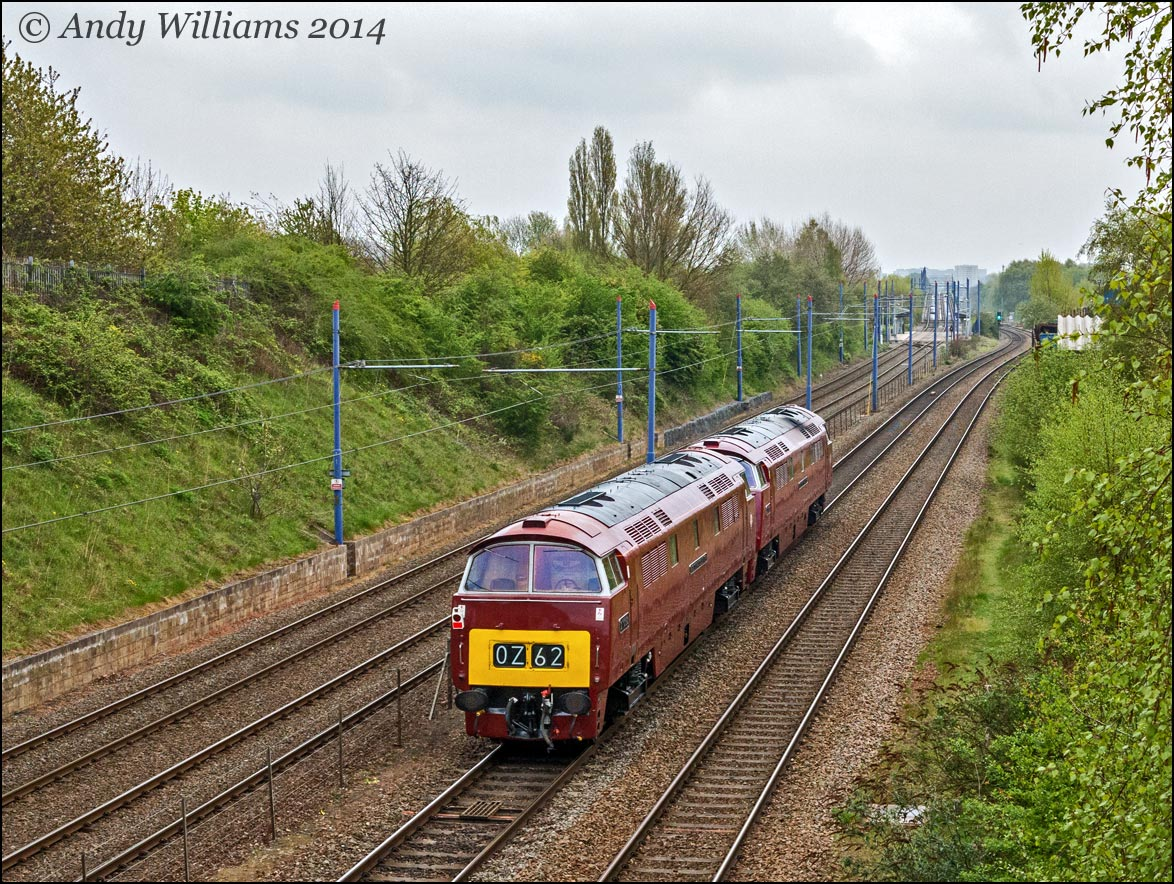 D1062 and D1015 near the Hawthorns