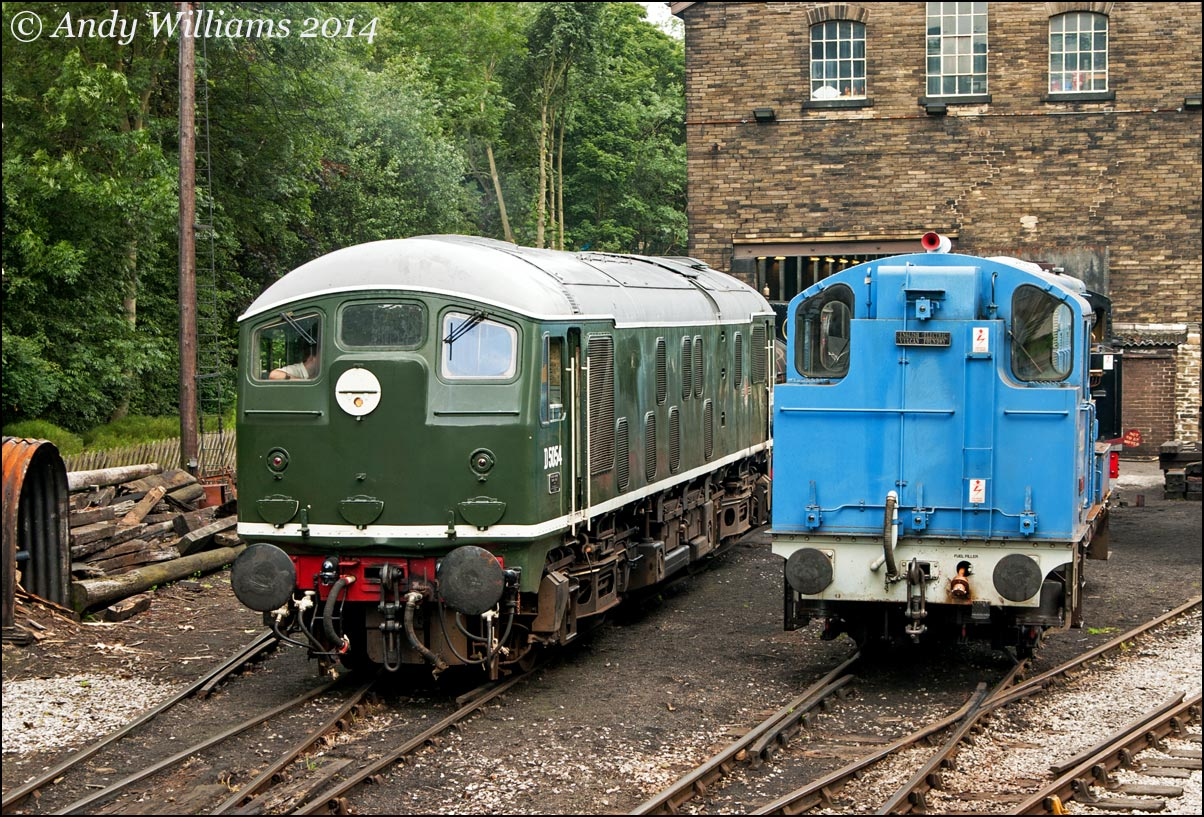 D5054 and D0226 at Haworth
