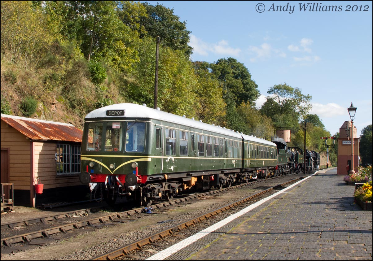 DMU at Bewdley
