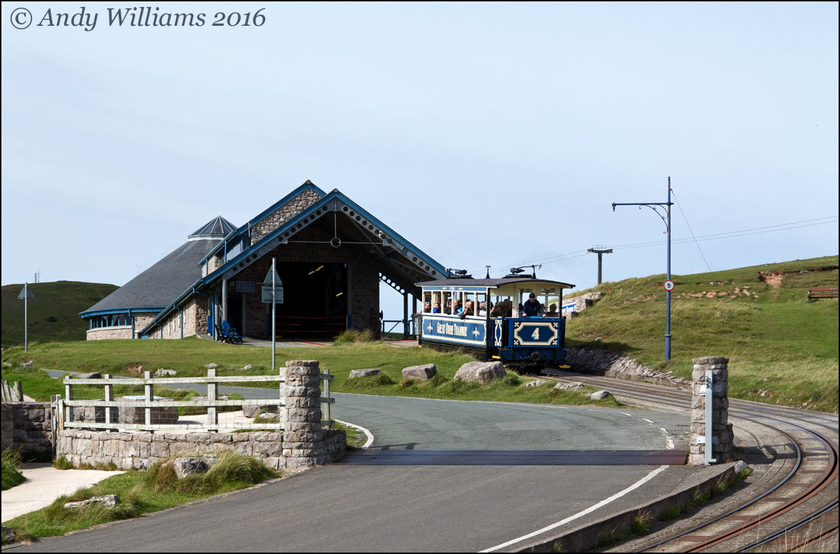 Great Orme Tramway number 4