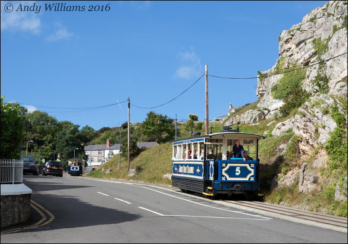 Great Orme Tramway number 5