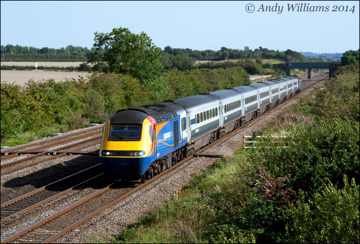 HST at Cossington