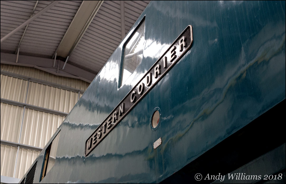 Western Courier nameplate