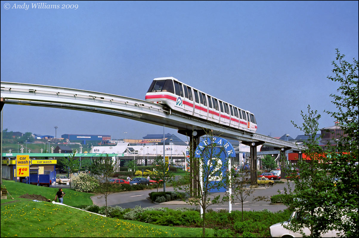 Monorail at Merry Hill Shopping Centre