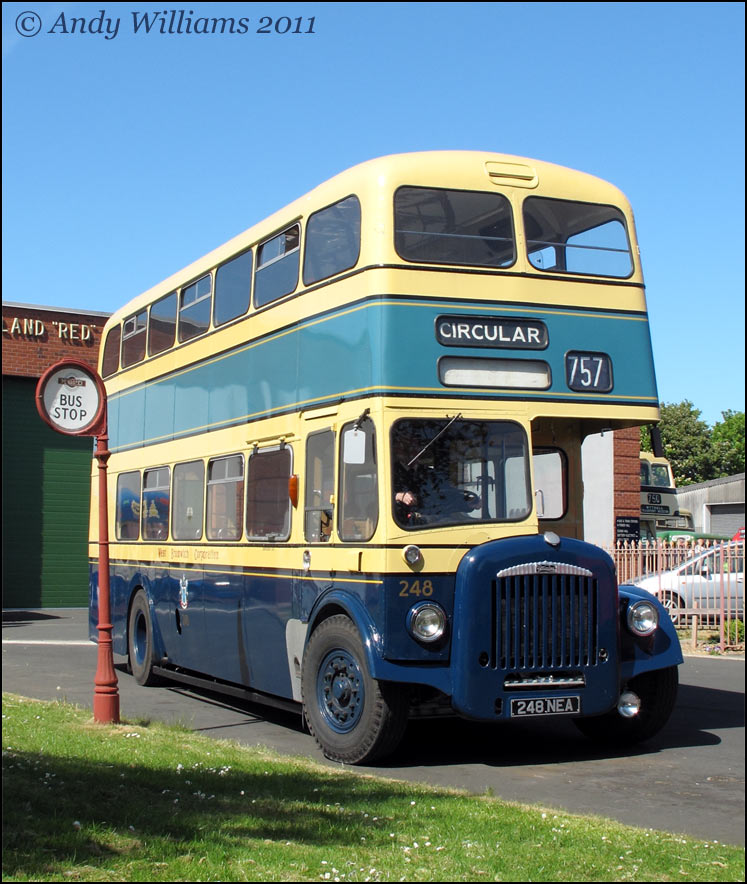 West Bromwich Corporation bus 248 at Wythall