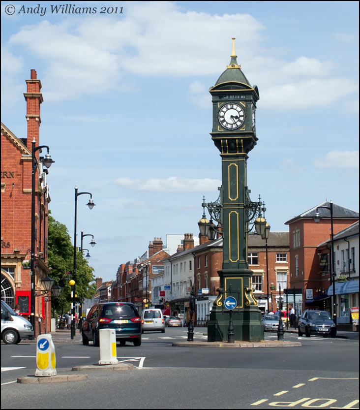 Jewellery Quarter Clock Tower, Birmingham
