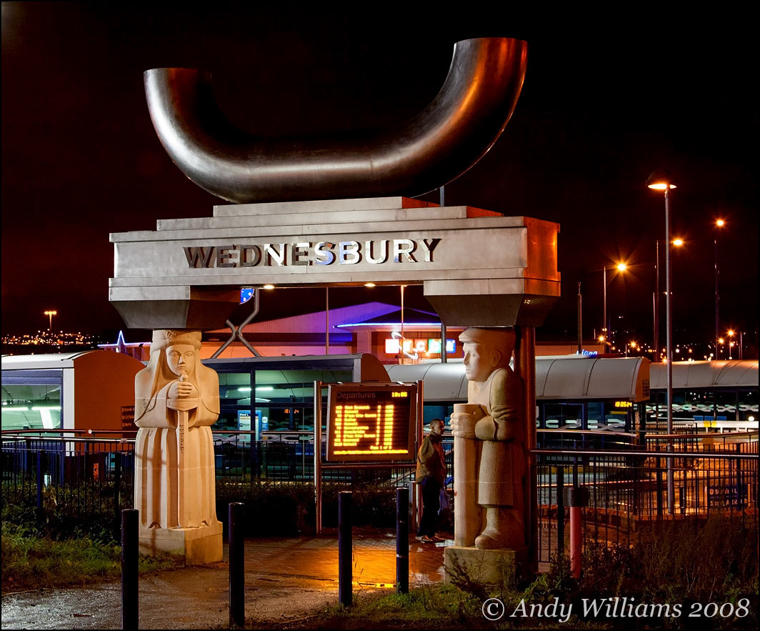 Wednesbury Bus Station