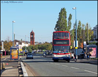 74 bus in Carters Green, West Bromwich