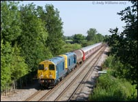 20096 and 20107 at Whitacre Heath