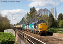 37069 and 37716 near Tame Bridge