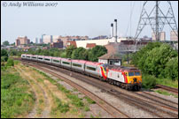 57305 passing Washwood Heath