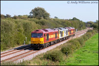 60008, 60046 and 60049 passing Barrow-on-Trent