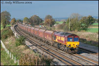 66185 passing Elford