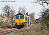 66605 in the Up Dudley Siding, Pleck Jct