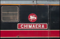 Chimaera nameplate on 31602