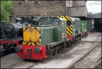 D2511 and 08266 at Haworth