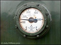 Fuel tank gauge on D3429