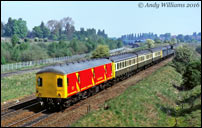 DMU convoy at Ryecroft