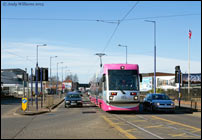 Tram 05 on the Bilston Road