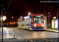 Tram 13 at Wednesbury Parkway